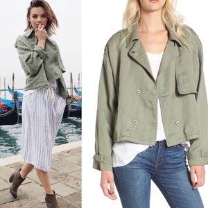 NWT Rails Army Green Barclay Jacket